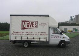 camion baché Neves