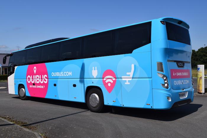 Marquage de bus OUIBUS