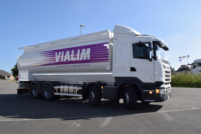 Marquage flotte de véhicules VIALIM
