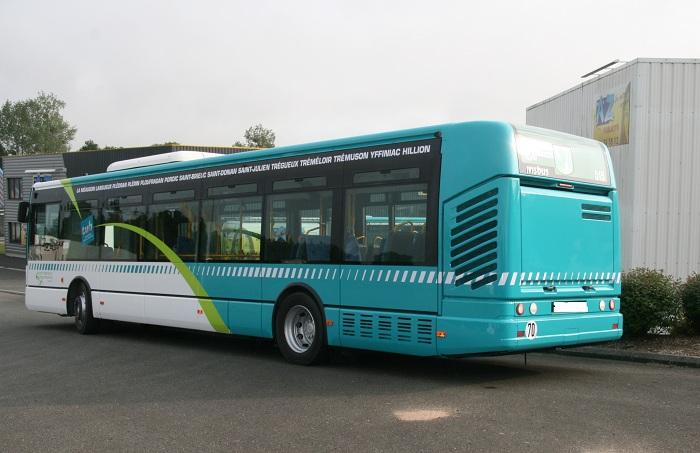 marquage de bus TUB