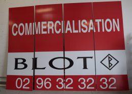 Impression numérique Grand Format 4 x 3 Blot Immobilier