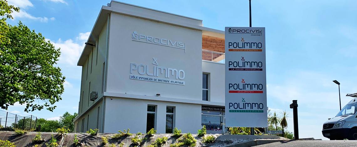 POLIMMO – slide accueil site