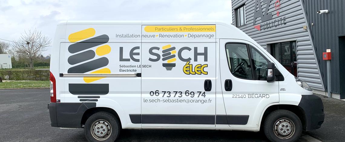 LE SECH ELEC – camion